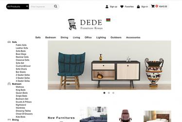 DEDE Furniture Online Shop in Kenya