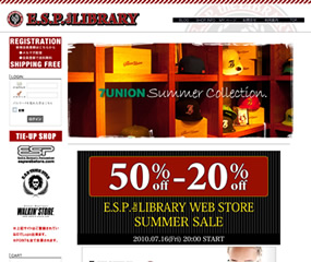 ESP the LIBRALY WEB STORE