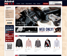 Admiral Official Online Store