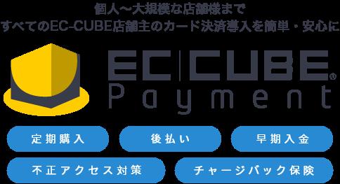 公式クレジットカード決済 ec cubeペイメント ecサイト構築