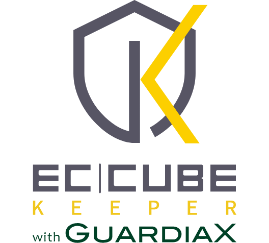 EC-CUBE KEEPER with GUARDIAX